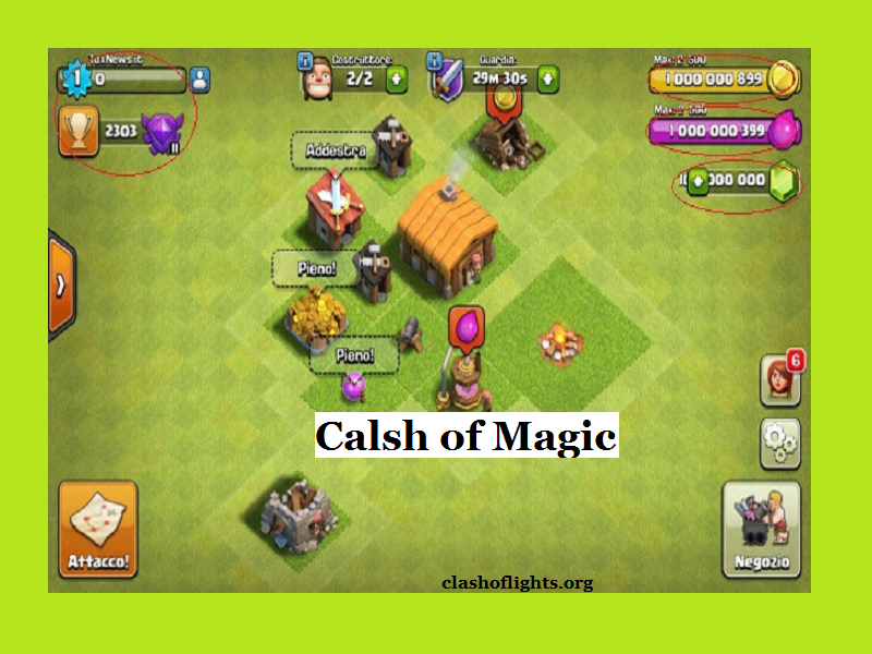 Download Clash of Magic APK- Free Latest COC Private Servers