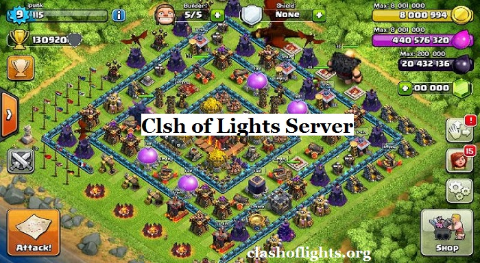 Clash of Lights Server