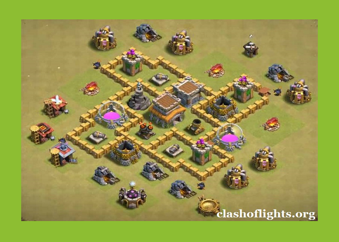 Th5 War Base Layouts