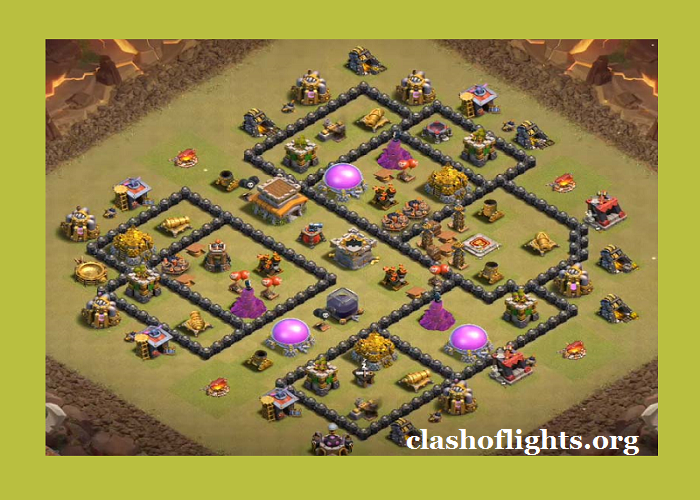 Th8 War Base Layouts