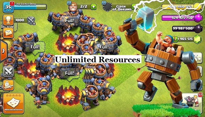 CoC Gems Hack- Clash of Clans Unlimited Hacks For 2019